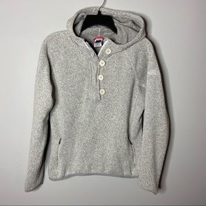 North Face Size Large Crescent Sunshine Hoodie